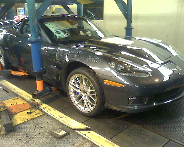 2009 ZR1 #49 at the Bowling Green Assembly Plant